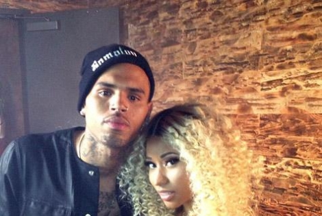 Chris Brown, Nicki Minaj Shoots 'Love More' Music Video