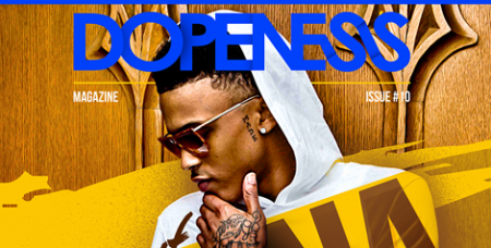 Lay back and enjoy the ride as August Alsina Covers Dopeness Magazine (Cover Story 2014)