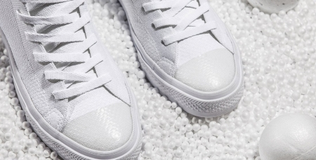 The Converse Chuck Taylor All Star x Nike Flyknit Goes All-White