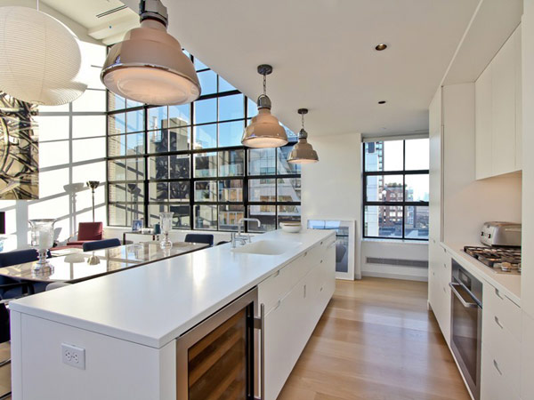 contemporary penthouse New York 5 Spectacular Duplex Penthouse in New York Defying the Urban Racket