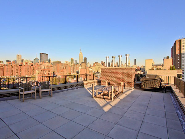 contemporary penthouse New York 11 Spectacular Duplex Penthouse in New York Defying the Urban Racket