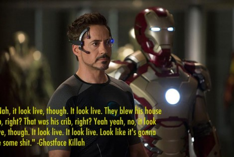 Ghostface Killah Reviews the Iron Man 3 Trailer