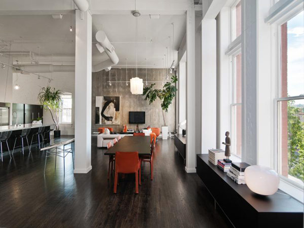 Broadway Loft  7 Cozy and Spacious Loft in Utah Enriched by Artistic Details