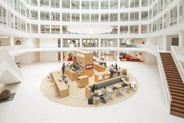 Eneco Headquarters 10 Considered One of the Best Workspaces in Europe: Eneco Headquarters in Rotterdam