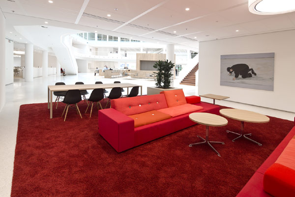 Eneco Headquarters 11 Considered One of the Best Workspaces in Europe: Eneco Headquarters in Rotterdam