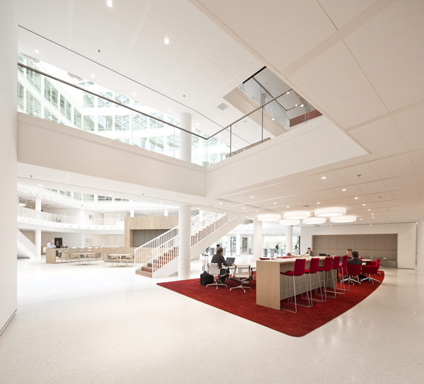 Eneco Headquarters 16 Considered One of the Best Workspaces in Europe: Eneco Headquarters in Rotterdam