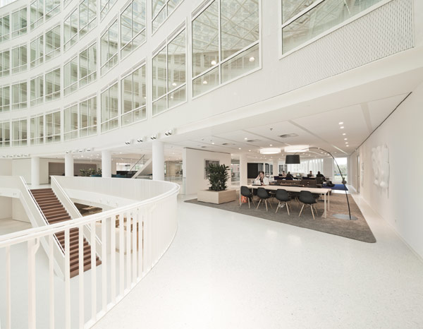 Eneco Headquarters 20 Considered One of the Best Workspaces in Europe: Eneco Headquarters in Rotterdam
