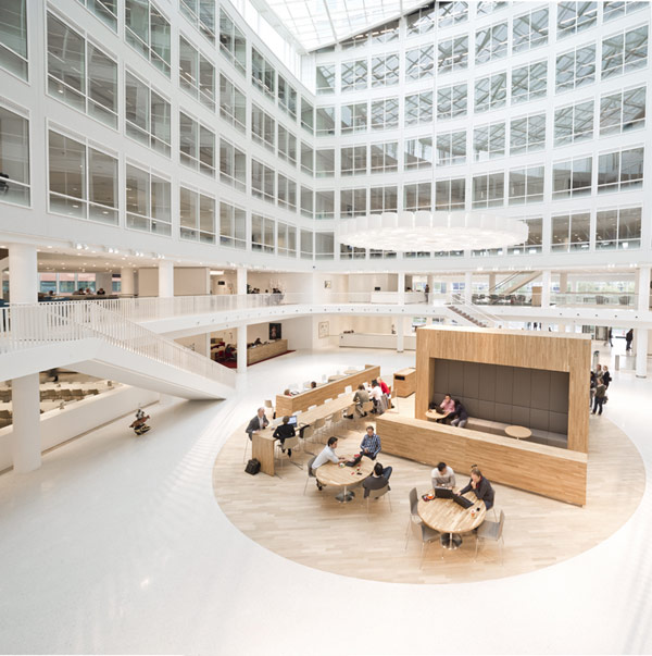 Eneco Headquarters 9 Considered One of the Best Workspaces in Europe: Eneco Headquarters in Rotterdam