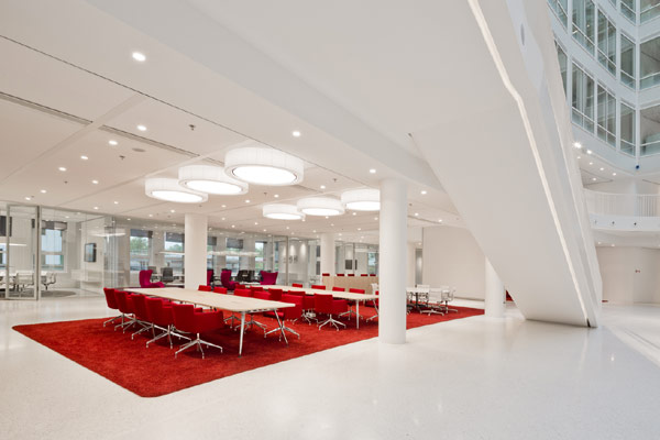 Eneco Headquarters 15 Considered One of the Best Workspaces in Europe: Eneco Headquarters in Rotterdam