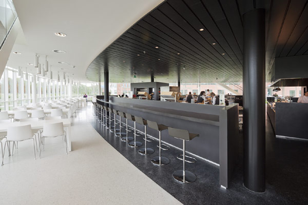 Eneco Headquarters 28 Considered One of the Best Workspaces in Europe: Eneco Headquarters in Rotterdam
