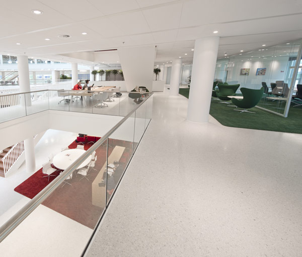 Eneco Headquarters 17 Considered One of the Best Workspaces in Europe: Eneco Headquarters in Rotterdam