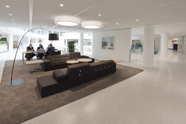 Eneco Headquarters 21 Considered One of the Best Workspaces in Europe: Eneco Headquarters in Rotterdam