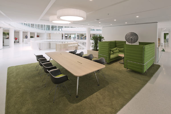 Eneco Headquarters 19 Considered One of the Best Workspaces in Europe: Eneco Headquarters in Rotterdam