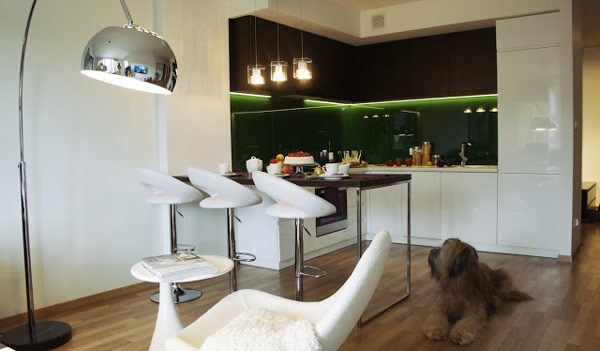 apartment Helena Micheldesi 5 Colorful and Elegant Apartment in Poland by Michel Design