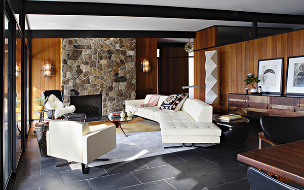 Smooth Cozy Interior Gorgeous Sense of Style: Luxury Mansion in L.A.