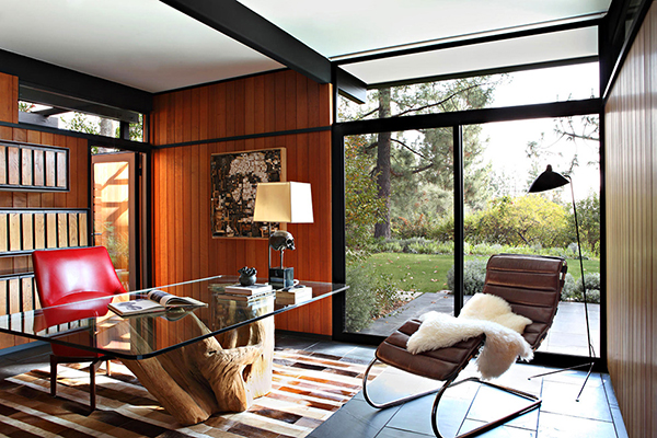 Office1 Gorgeous Sense of Style: Luxury Mansion in L.A.