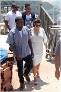Kim Kardashian, Kanye West, Will Smith and Duane Martin Go on a Couples Retreat