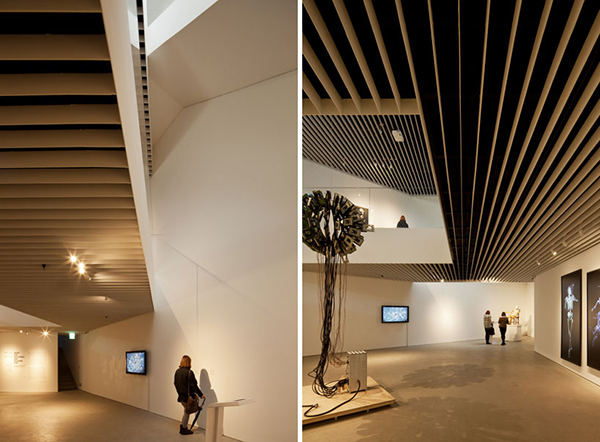Exhibition 1 Steel Contemporary Shaped Art Centre in South Korea