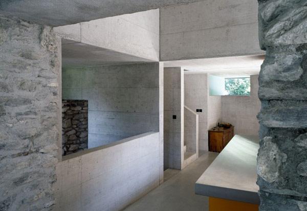 chamoson villa 10 Genuine Rocky Architecture in Switzerland: The Chamoson Residence
