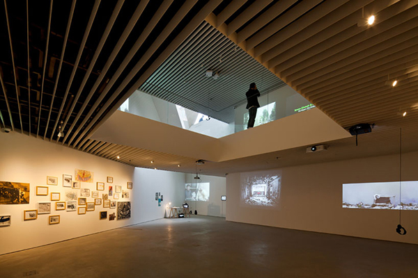 Exhibition1 Steel Contemporary Shaped Art Centre in South Korea