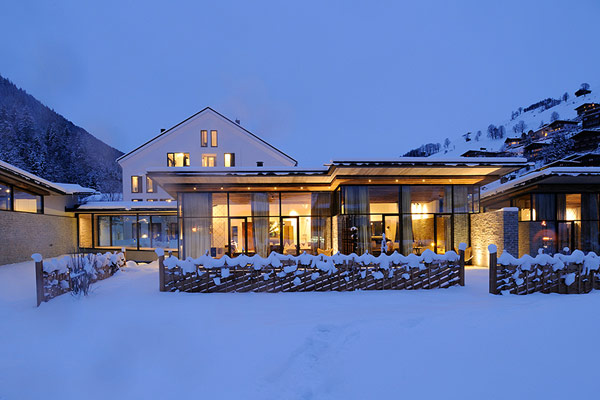 Austria Wiesergut ski hotel facade Charming Ski Retreat Where Nature Takes Center Stage: Wiesergut Hotel