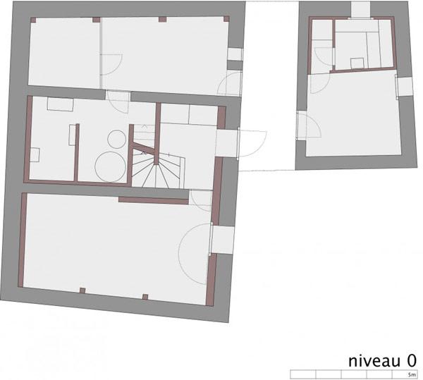 chamoson villa 19 Genuine Rocky Architecture in Switzerland: The Chamoson Residence