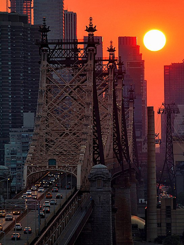 Architectural photos NYC at sunset  How to Create Breathtaking Architectural Photographs