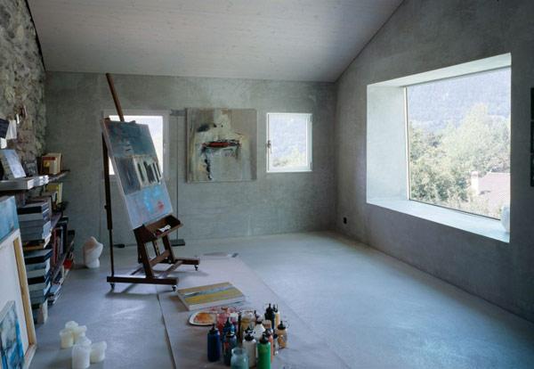 chamoson villa 14 Genuine Rocky Architecture in Switzerland: The Chamoson Residence
