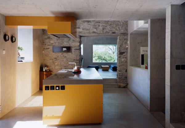 chamoson villa 8 Genuine Rocky Architecture in Switzerland: The Chamoson Residence