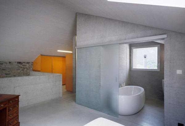 chamoson villa 17 Genuine Rocky Architecture in Switzerland: The Chamoson Residence
