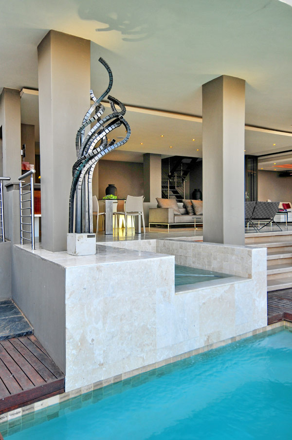 modern residence South Africa 6 Luxurious Living in Johannesburg, South Africa: House Bassonia
