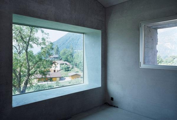 chamoson villa 15 Genuine Rocky Architecture in Switzerland: The Chamoson Residence