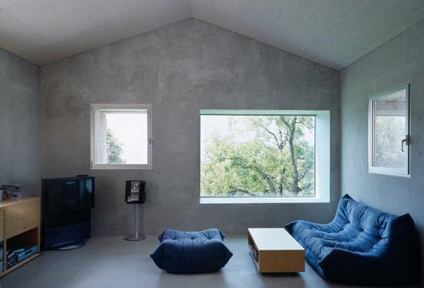 chamoson villa 13 Genuine Rocky Architecture in Switzerland: The Chamoson Residence