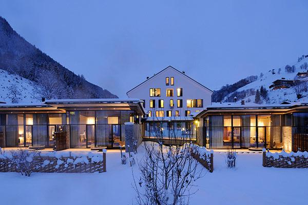 Austria Wiesergut ski hotel exterior Charming Ski Retreat Where Nature Takes Center Stage: Wiesergut Hotel