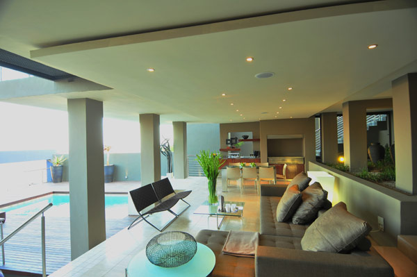 modern residence South Africa 8 Luxurious Living in Johannesburg, South Africa: House Bassonia