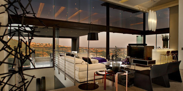 modern residence South Africa 21 Luxurious Living in Johannesburg, South Africa: House Bassonia