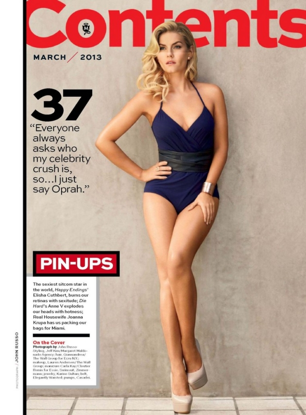 Blonde Elisha Cuthbert Makes The Day Sweeter Elisha Cuthbert 2