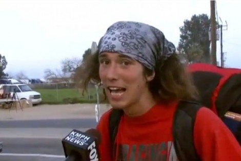Homeless Hitchhiking Hatchet Hero: My new favorite IRL superhero