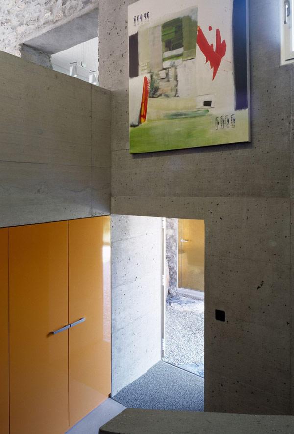 chamoson villa 12 Genuine Rocky Architecture in Switzerland: The Chamoson Residence