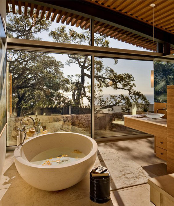 Coastlands House 10 Sustainable Home for Retired Couple in Big Sur, California: Coastlands House