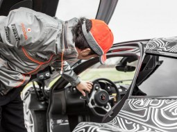 McLarenP1 Sergio Perez G1 255x190 Shocker: Sergio Perez likes the McLaren P1 (w/VIDEO)