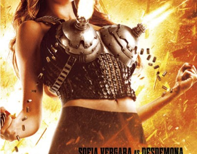 Sofia Vergara has boob guns because Robert Rodriguez is mature