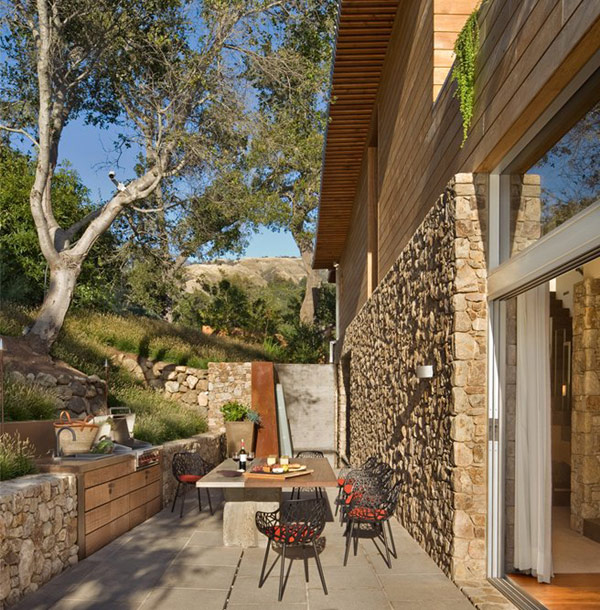 Coastlands House 11 Sustainable Home for Retired Couple in Big Sur, California: Coastlands House