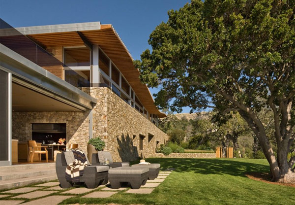 Coastlands House 5 Sustainable Home for Retired Couple in Big Sur, California: Coastlands House