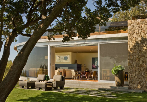 Coastlands House 4 Sustainable Home for Retired Couple in Big Sur, California: Coastlands House