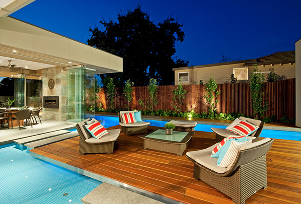 Amazing Details Evening Terrace Gorgeous Contemporary Home Inspired By The Summer