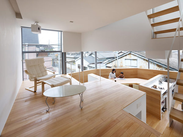 Japanese Home 4 The Japanese Way of Enhancing Living Space: House in Matsubara