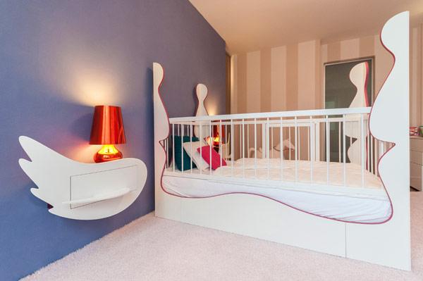 modern girl boy room 3 Inspiring Bedrooms for Boy and Girl in Modern Slovakian Crib