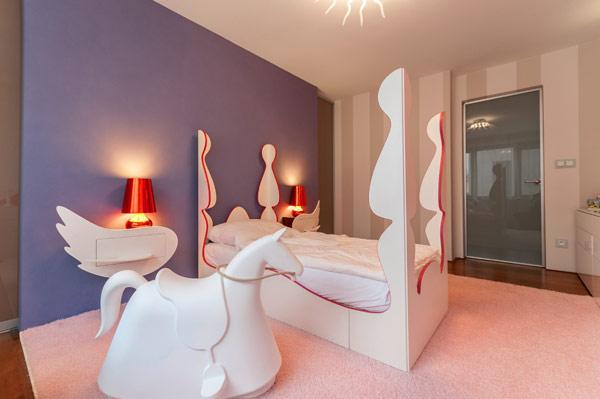 modern girl boy room 17 Inspiring Bedrooms for Boy and Girl in Modern Slovakian Crib