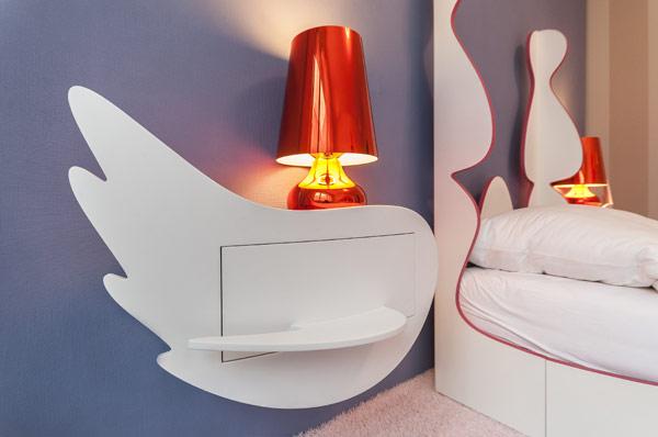 modern girl boy room 2 Inspiring Bedrooms for Boy and Girl in Modern Slovakian Crib